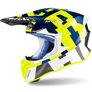 Casque cross TWIST 2.0 - FRAME - BLUE GLOSS 2021 Blue
