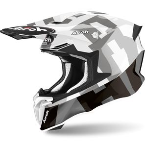 Casque cross TWIST 2.0 - FRAME - GREY GLOSS 2021 Grey