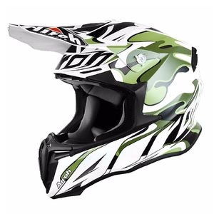Casque cross TWIST - MIMETIC  - MATT 2017 Blanc/Camouflage