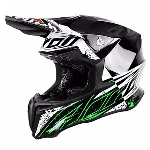 Casque cross TWIST -  SPOT 2017 Noir/Blanc