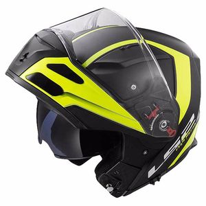 Casque FF324 METRO EVO RAPID MATT  Matt Black / H-V Yellow