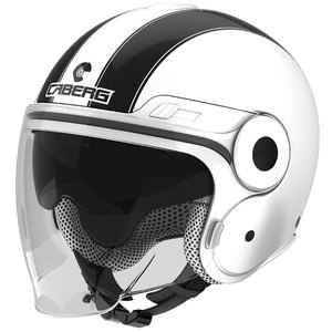 Casque Caberg Uptown Legend White/black