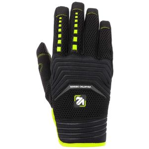 Gants cross MX18 BLACK/YELLOW 2018 Noir/Jaune