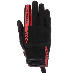 Gants RUSH 18 BLACK/RED  Black/Red