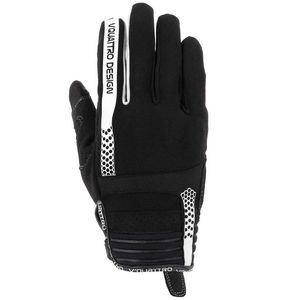 Gants RUSH 18 BLACK/WHITE  Black/white