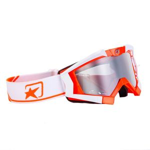Masque cross RC PLUS ORANGE/WHITE 2019 Orange/Blanc