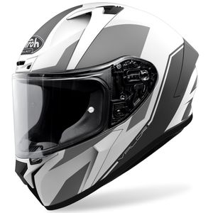 Casque VALOR - WINGS MATT  White Matt