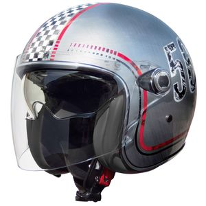 Casque VANGARDE FL - CHROMED  Gris