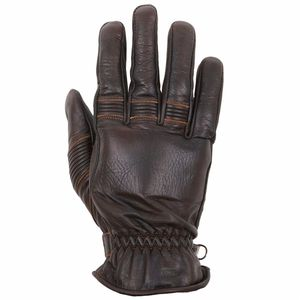 Gants VELVET - cuir PULL-UP  Marron