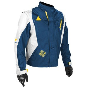 Veste enduro FLEXOR ADVANCE 2019 Bleu/Jaune