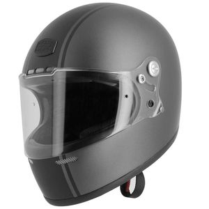 Casque Astone Gt Retro Stripes Matt