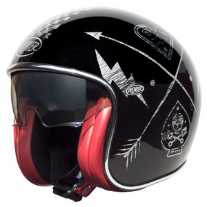 Casque VINTAGE - NX - CHROMED  Silver