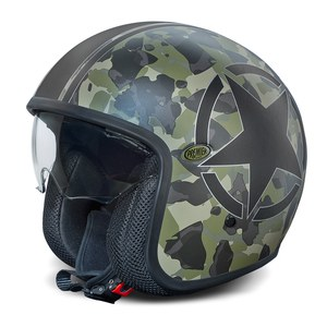 Casque VINTAGE - CAMOUFLAGE LIMITED EDITION  Camouflage