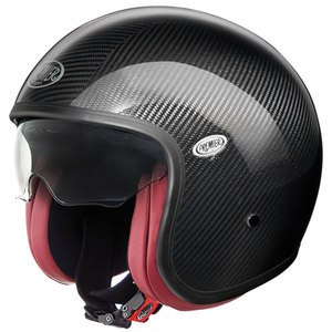 Casque Premier Vintage - Carbon Interieur Rouge
