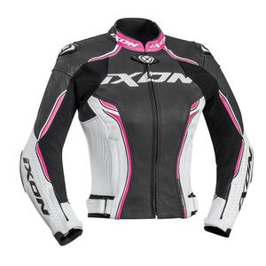 Blouson VORTEX LADY  Black/White/Fuschia