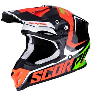 Casque cross VX-16 AIR - ERNEE - BLACK NEON RED GREEN 2019 Black Neon Red Green