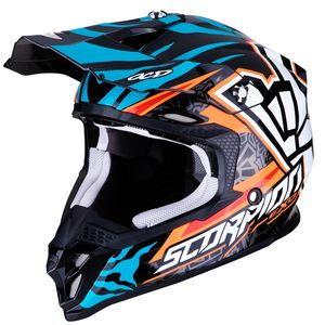 Casque cross VX-16 AIR - REPLICA ROK BAGOROS 2019 Orange Blue