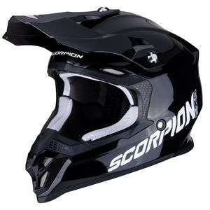 Casque cross VX-16 AIR - SOLID - BLACK 2019 Black