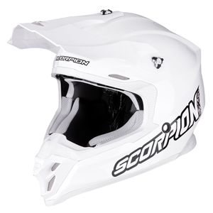 Casque cross VX-16 AIR - SOLID - WHITE 2019 White