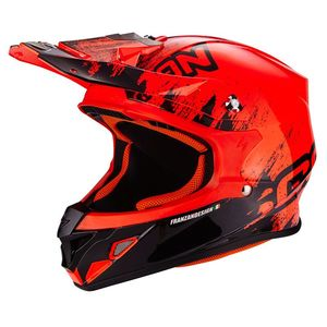 Casque cross VX-21 AIR - MUDIRT 2019 Noir/Rouge