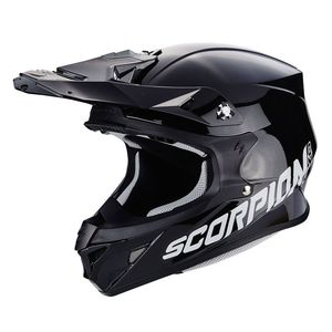 Casque cross VX-21 AIR - SOLID BLACK 2019 Noir