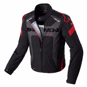 Blouson WARRIOR H2OUT  Noir/Rouge