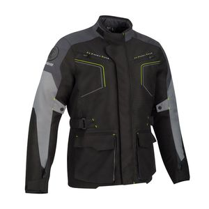 Veste WINNIPEG  Black Grey Yellow