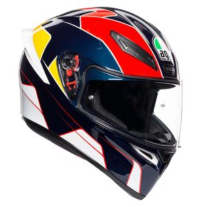 Casque K-1 - PITLANE  Blue/Red/Yellow