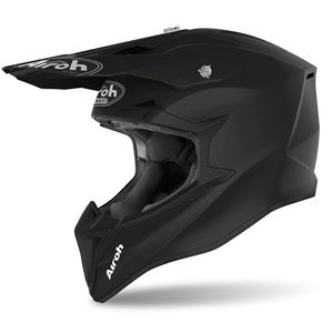 Casque cross WRAAP - COLOR - BLACK MATT 2021 Black