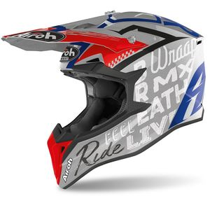Casque cross WRAAP - STREET - GREY GLOSS 2021 Grey
