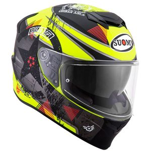 Casque STELLAR - WRENCH  Matt Yellow Fluo Grey