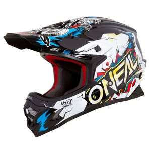 Casque Cross O'neal 3 Series Youth - Villain - White 2019