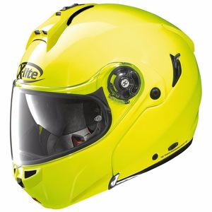 Casque X-1004 - HI-VISIBILITY N-COM  Fluo Yellow 9