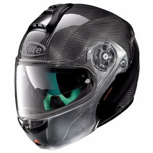 Casque X-1004 ULTRA CARBON - DYAD SCRATCHED CHROME  Carbon 3
