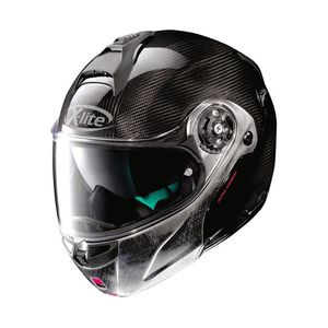 Casque X-1004 ULTRA CARBON - DYAD N-COM- SCRATCHED  Carbon Scratched Chrome