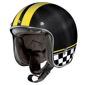 Casque X-201 ULTRA CARBON - WILLOW SPRINGS  Carbon/Yellow 7
