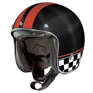 Casque X-201 ULTRA CARBON - WILLOW SPRINGS  Carbon/Red 8