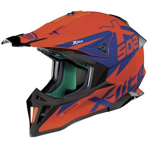 Casque cross X-502 - MATRIS - LED ORANGE 2019 Led Orange 17
