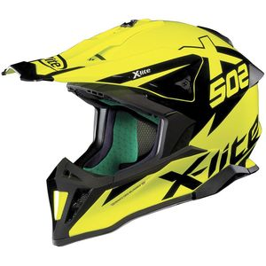 Casque cross X-502 - MATRIS - LED YELLOW 2019 Led Yellow 16