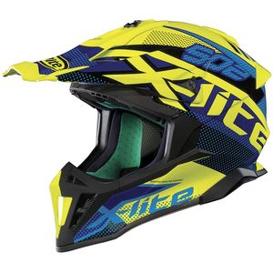 Casque cross X-502 RESISTENCIA - LED YELLOW 2019 Led Yellow 22