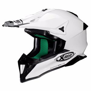 Casque cross X-502 - START METAL WHITE 3 2019 Metal White 3