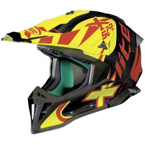 Casque cross X-502 - ULTRA CARBON XTREM - CARBON/YELLOW 2019 Carbon/Yellow