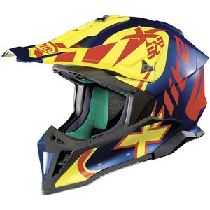 Casque cross X-502 - XTREM - FLAT CAYMAN BLUE 2019 Flat Cayman Blue 18