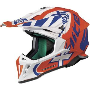 Casque cross X-502 - XTREM - LED ORANGE 2019 Led Orange 19