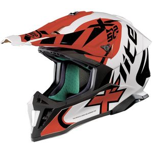 Casque Cross X-lite X-502 Xtrem Metal White 2018