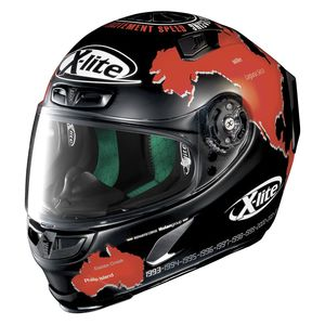 Casque X-803 - REPLICA - C.CHECA  Flat Black 15