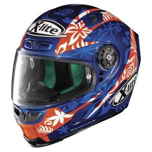 Casque X-803 - REPLICA - D.PETRUCCI  Cayman Blue 16