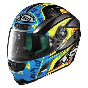 Casque X-803 - REPLICA - L.CAMIER  Scratched Chrome 25