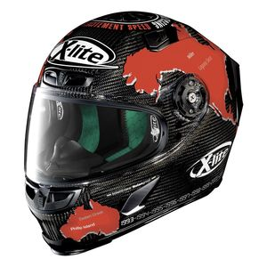 Casque X-lite X-803 Ultra Carbon Replica C.checa