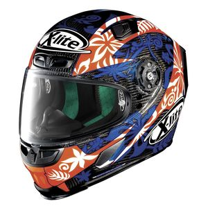 Casque X-803 - ULTRA CARBON - REPLICA D.PETRUCCI  Carbon 20